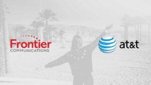 frontier vs att internet service