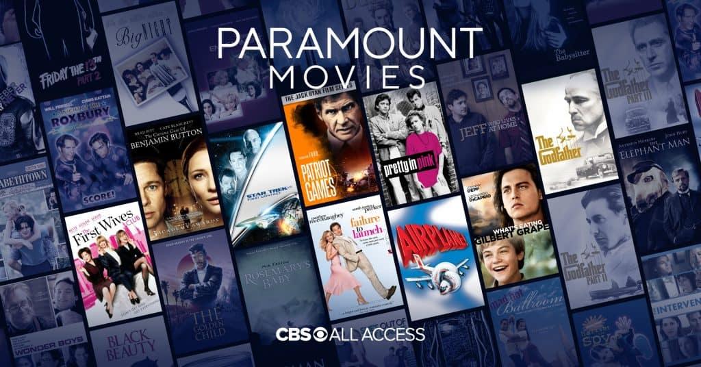 cbs all access movie titles