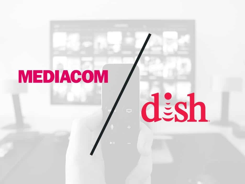 Mediacom TV vs DISH Network TV comparison review