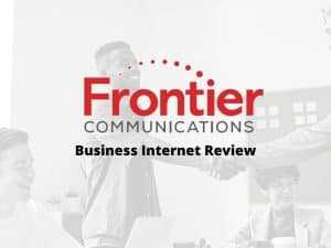 frontier business internet review
