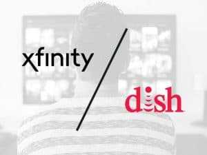 xfinity tv vs dish network cable tv