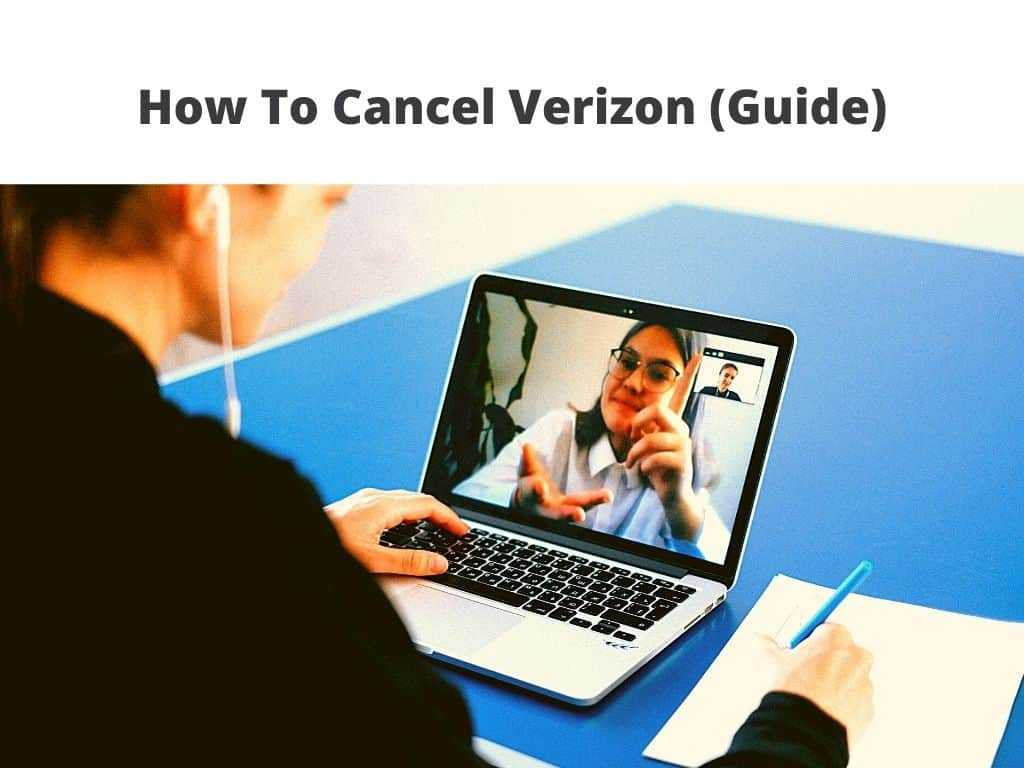 How To Cancel Verizon guide