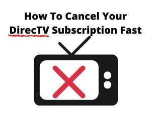 cancel directv