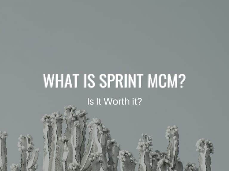 should you use Sprint MCM