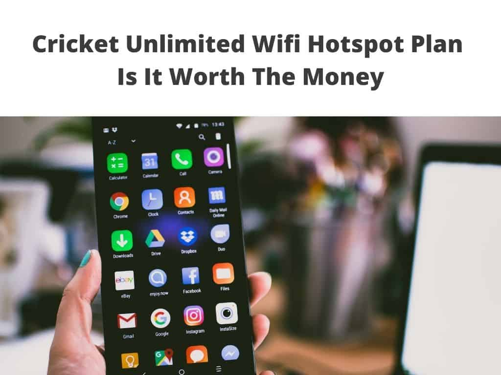 Cricket Unlimited Wifi Hotspot Plan review
