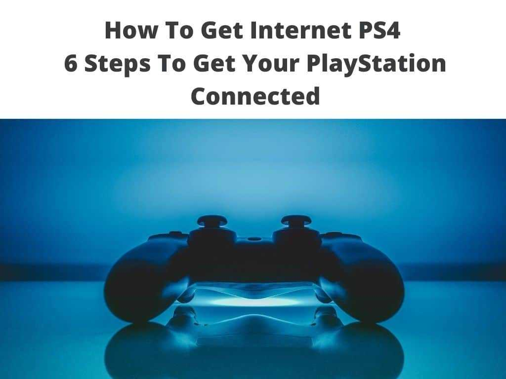 Internet PS4 tutorial