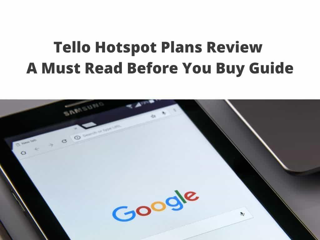 Tello Hotspot Plans Review