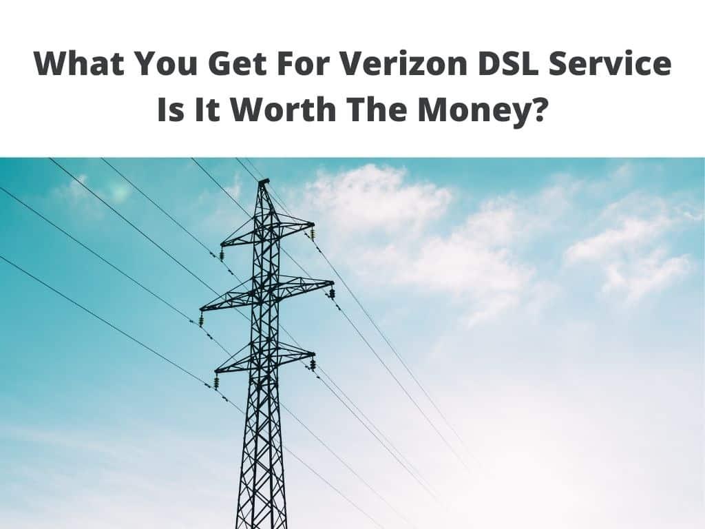 what is verizon dsl internet