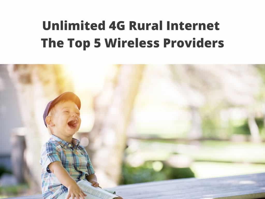 4G Rural wireless Internet