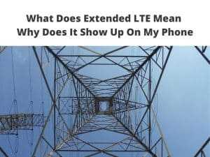 Extended LTE Mean
