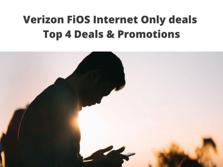 FiOS Internet Only deals