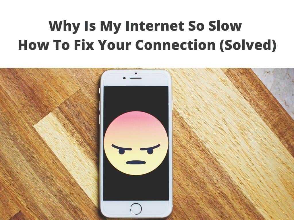My Internet is Slow