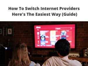 Switch Internet Provider tutorial