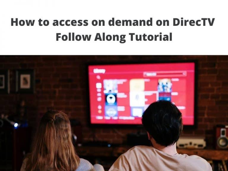 on demand on directv now