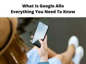 what is google allo