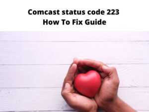 Comcast status code 223 fix