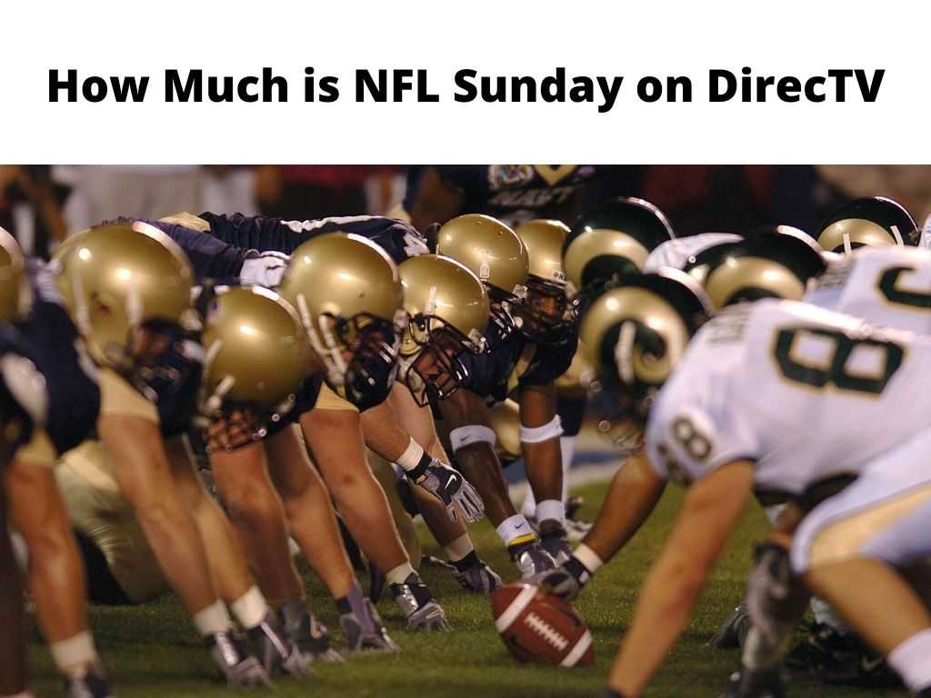 How Much is NFL Sunday on DirecTV