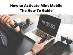 How to Activate Mint Mobile