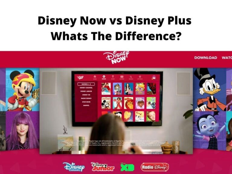 Disney Now vs Disney Plus