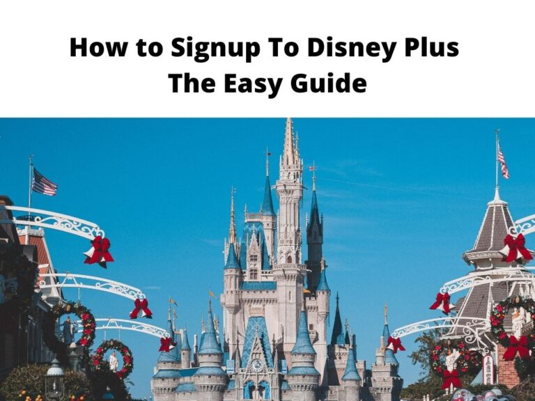 How to Signup To Disney Plus