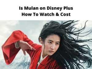 Is Mulan on Disney Plus