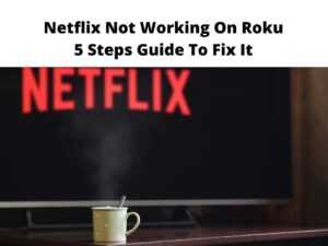 Netflix Not Working On Roku 5 Steps Guide To Fix It