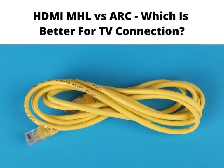 HDMI MHL vs ARC